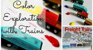 Freight Train: Exploring Colors with Trains - Pre-K Pages