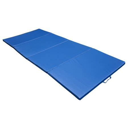 gymnastics mats walmart soozier 10 x 4 x 2 quot pu leather folding gymnastics
