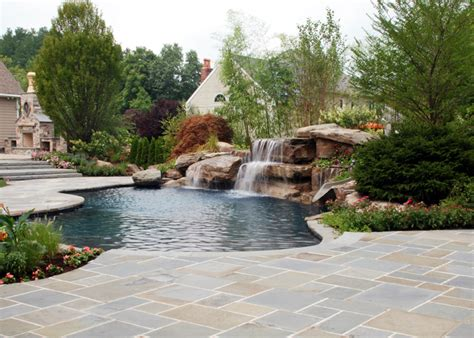 luxury swimming pool spa design ideas outdoor indoor nj