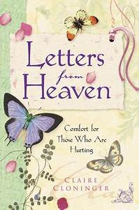 Letters from heaven by claire cloninger reviews for Letters from heaven book