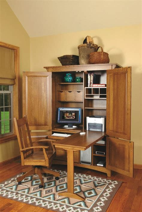 25+ Best Ideas About Computer Armoire On Pinterest Craft