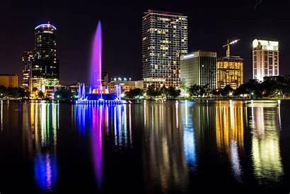 Orlando Wallpapers Florida Night Background Fl Desktop