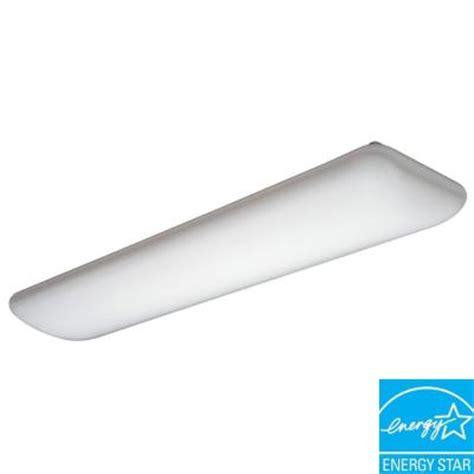 Home Depot Ceiling Light Covers by Lithonia Lighting Litepuff 2 Light White Fluorescent