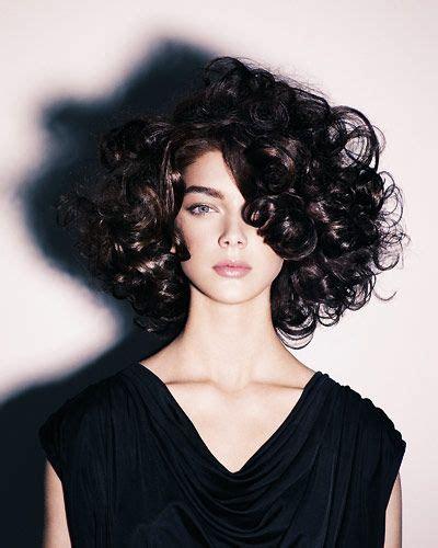 mittellange frisurentrends  short curly hair