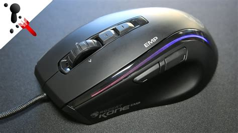 Roccat Kone Emp Mouse Review Youtube
