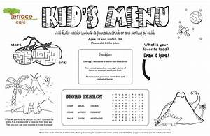 Kids' Menu, Kid Menu Designs, Kid Menu Templates ...