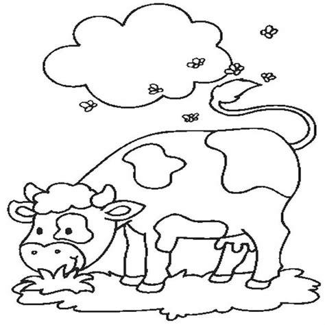 disegni di animali da stare e ritagliare animali fattoria da colorare e stare