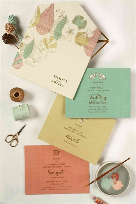 40 of India's MOST GORGEOUS Wedding Invites Indian