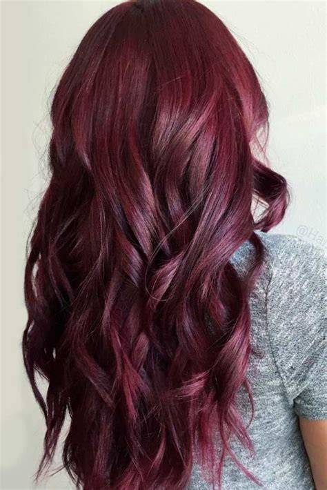 Burgundy Hairstyles by 24 Burgundy Hair Styles Find The Best Shade For Your Skin