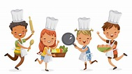 Best Child Chef Illustrations, Royalty-Free Vector ...