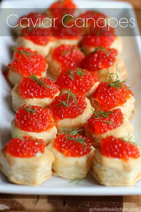 pastry canapes recipes puff pastry caviar canapes and the kitchen