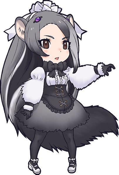giant anteater japari library  kemono friends wiki