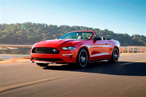 ford mustang convertible review trims specs price