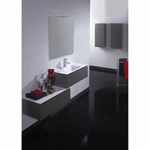 meuble taupe de salle de bain meubles avec simple vasque With meuble de salle de bain taupe