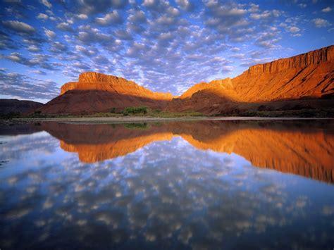 Buttermilk Clouds Colorado River Wallpapers | HD ...