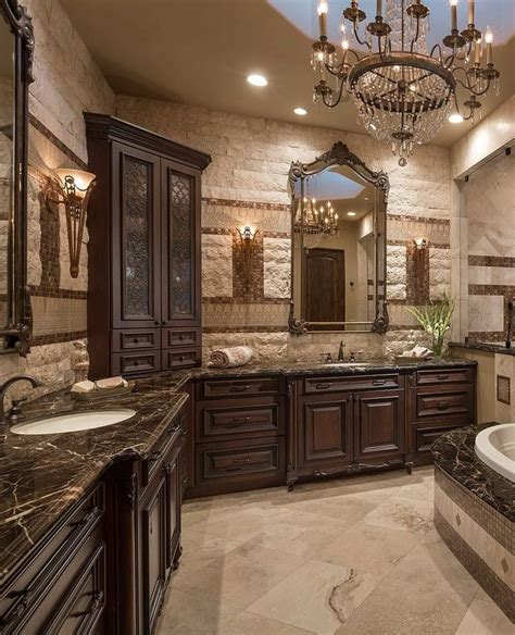 luxurious master bathrooms images  pinterest