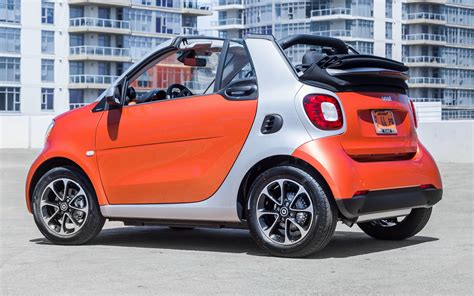 Smart Fortwo Cabrio (2017) Us Wallpapers And Hd Images