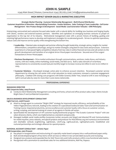 Draft Resume Template by Executive Managing Director Resume How To Draft An