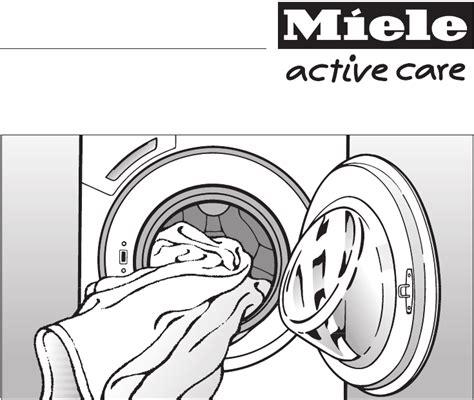 fehlercode miele waschmaschine bedienungsanleitung miele w 1740 active care seite 1 64