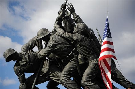 Marine Corps Will Investigate Identity Of Flag-raisers At