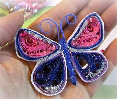 quilling paper craft ideas radiant quilled butterfly allfreepapercrafts 5306