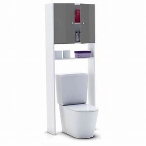 corail meuble wc ou machine a laver 60 cm gris achat With meuble salle de bain corail