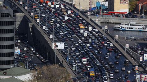 Moscow Named Second Worst City for Traffic Jams in the ...