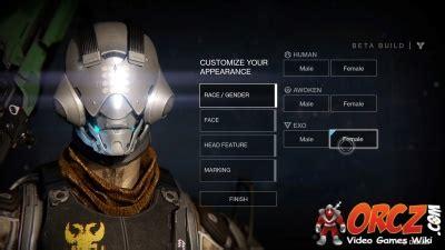 destiny exo orczcom  video games wiki