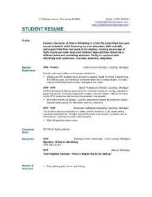 cv for student student resume templates student resume template