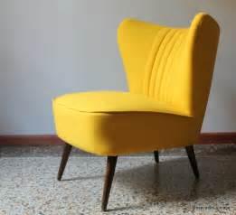 Fauteuil Cocktail Jaune fauteuil cocktail 50 s jaune inspiration vintage