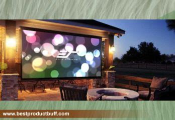 Top 10 Best Outdoor Pull down Projector Screen 2020 Review