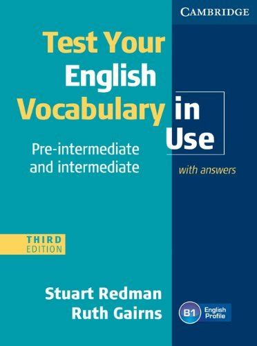 Test Your English Vocabulary In Use  Student's Book With Answers (preintermediate