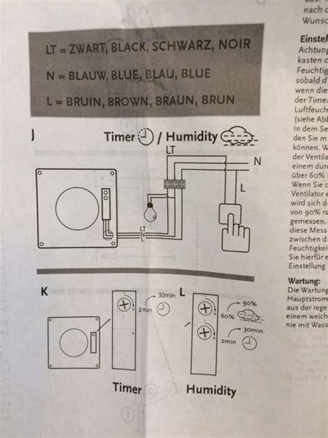 badkamer ventilator tijdschakelaar stunning ventilator badkamer aansluiten pictures house