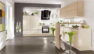 Küchenfront Magnolie Hochglanz : moderne einbauk che norina 4312 magnolia hochglanz lack k chenquelle ~ Markanthonyermac.com Haus und Dekorationen