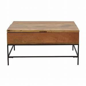 coffee tables used coffee tables for sale With industrial storage coffee table west elm