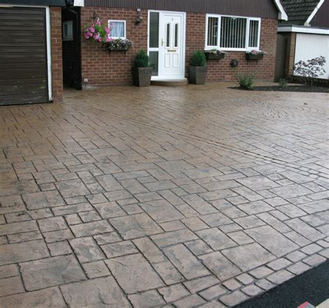 cement driveway ideas sted concrete driveway patterns extraordinary landscaping driveway ideas grezu home