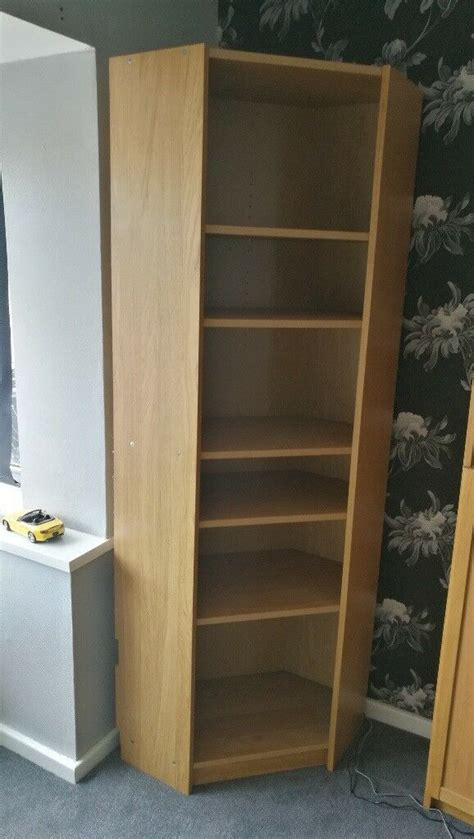 Ikea Billy Bookcase Corner by Ikea Billy Corner Bookcase In Oak Fits With Normal