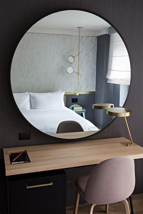 comment realiser une belle deco avec  miroir design