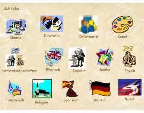 German School Subjects