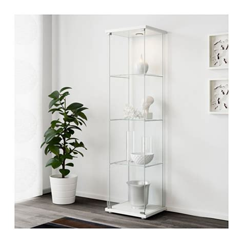 Detolf Glass Door Cabinet Malaysia by Detolf Glass Door Cabinet White 43x163 Cm Ikea