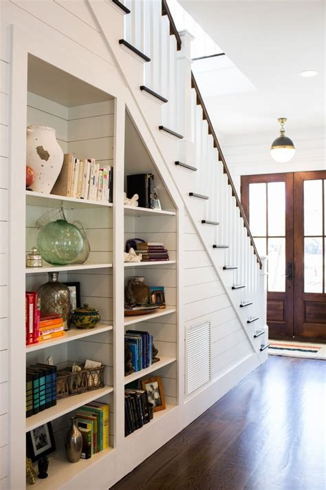 Stairs Shelf Ideas For Book Storage by The Built In Bookshelves The Staircase Such A