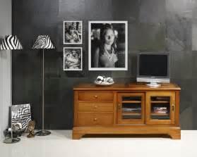 Meuble TV 169eme E En Merisier Massif De Style Louis