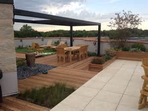 Green Furniture Solutions private roof garden contemporary patio chicago by