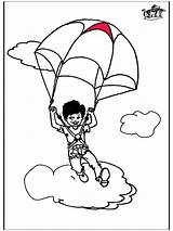 Parachute Coloring Pages Parachuting Colouring Template Funnycoloring Popular Advertisement Sketch 09kb 880px sketch template
