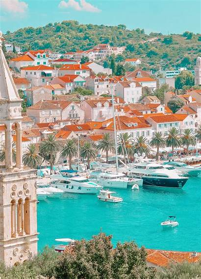 Croatia Places Visit Travel Country Handluggageonly Islands