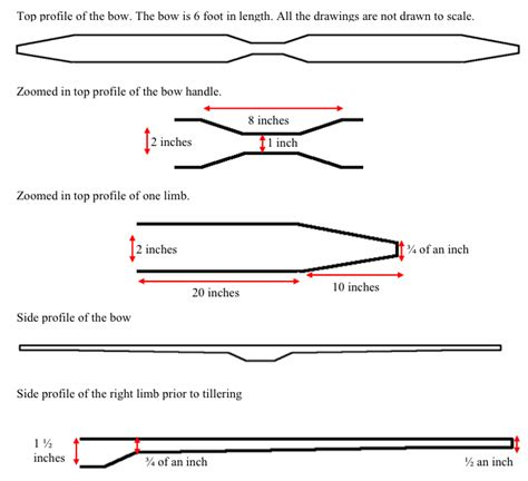 Ashe Bow Template by How To Carve An Ash Flatbow Bushcraft Days