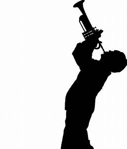 Jazz Player Silhouette Pictures to Pin on Pinterest ...