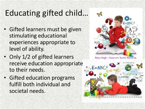 Curriculum development for Gifted Students