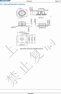 Mxchip Information Technology Emw3080 Embedded Wifi Module