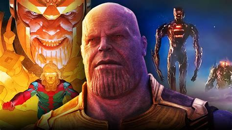 Thanos Co-Creator Teases MCU Villain's Appearance In ...